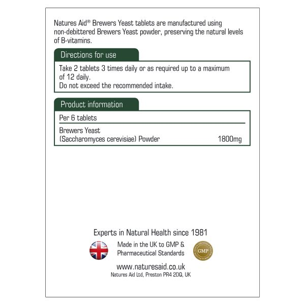 Brewers Yeast 300mg 500's - 11610_1