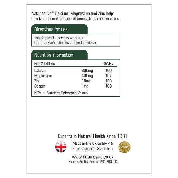 Calcium, Magnesium & Zinc 90's - 120430_1