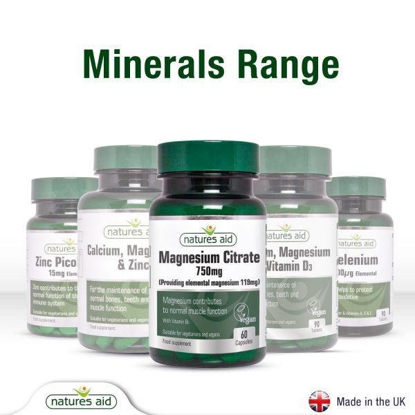 Magnesium Citrate 750mg 60's Caps - 146920_Range