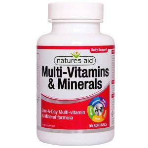 Multi-Vitamins & Minerals (with Iron) 90's - 10630
