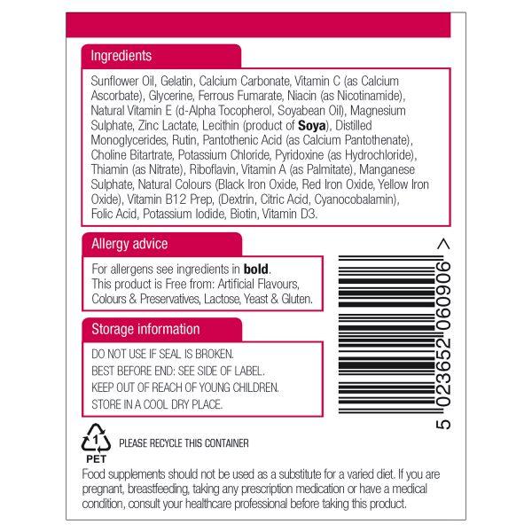 Multi-Vitamins & Minerals (with Iron) 90's - 10630_2