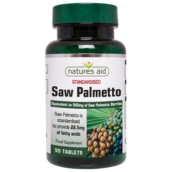 Saw Palmetto 500mg 90's - 18820