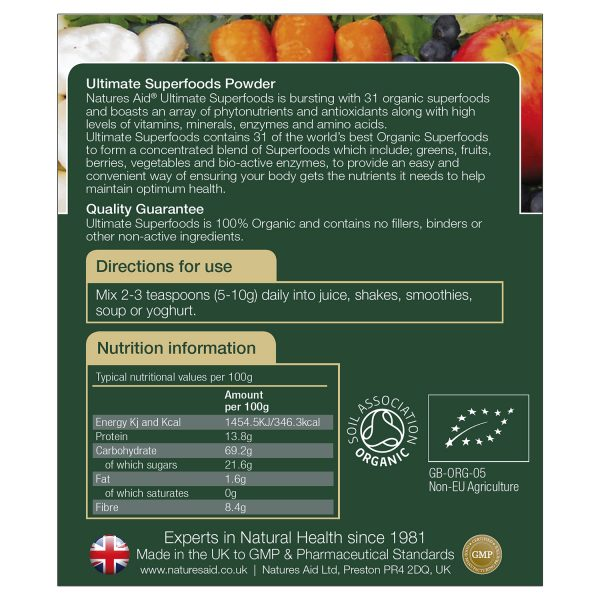 Ultimate Superfoods Powder 150g - 139900_1
