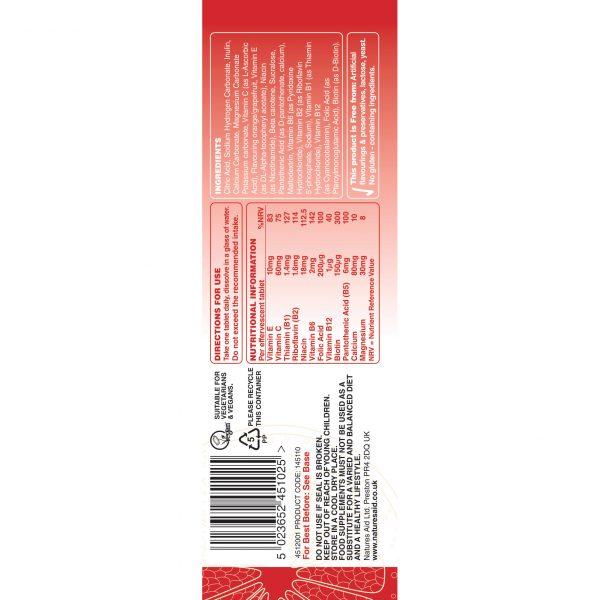 effervescent-multi-vit-145110-label-showing-ingredients